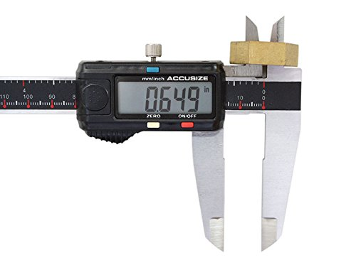 AccusizeTools - 12'' x 0.0005'' Left Hand Electronic Digital Caliper with Extra Large LCD Metric/Inch, #AB11-L112 by Accusize Industrial Tools (Image #8)