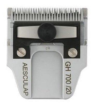 Aesculap Taille 1/20mm GH700Lame de tondeuse de toilettage Size 1/20mm GH700