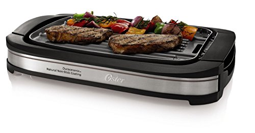 Griddle Grill warming tray nonstick reversible electric c...