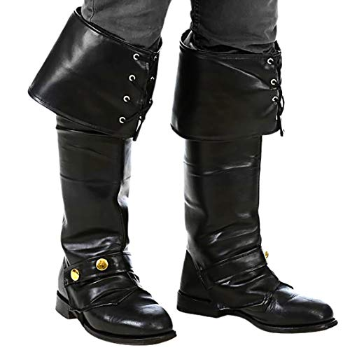Narwhal Novelties Pirate Boot Covers, Pirate Boots