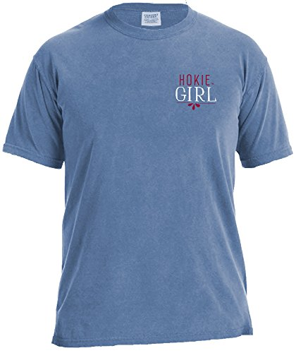 ncaa-virginia-tech-hokies-girls-sweet-southern-short-sleeve-comfort-color-tee-washed-denim-medium