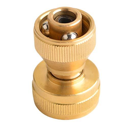 HYDRO MASTER 0712501 Big Shot Brass Super Nozzle,Solid Brass,Adjustable Twist Pressure Sprayer