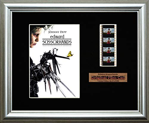 Edward Scissorhands - Framed filmcell picture (s)
