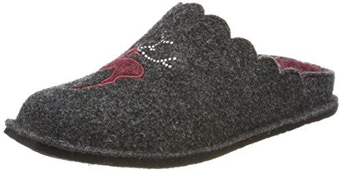 Supersoft Damen 522 198 Pantoffeln, Rot (Bordo), 40 EU