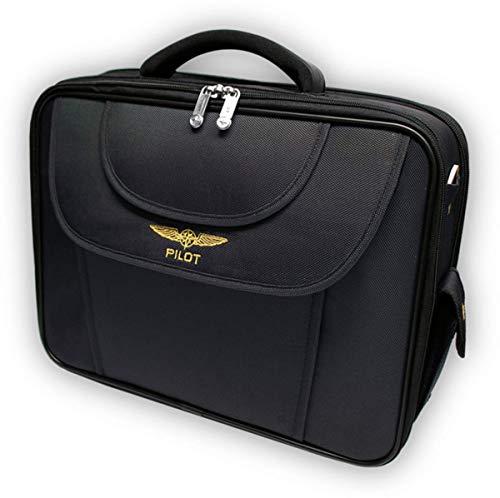DESIGN 4 PILOTS Daily Pilot Bag Flight bag, student aviation case, pilot briefcase, laptop case, Christmas pilot gift