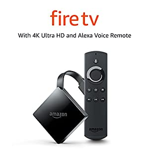 All- Fire TV with 4K Ultra HD and Alexa Voice Remote | Streaming Media Player from Amazon