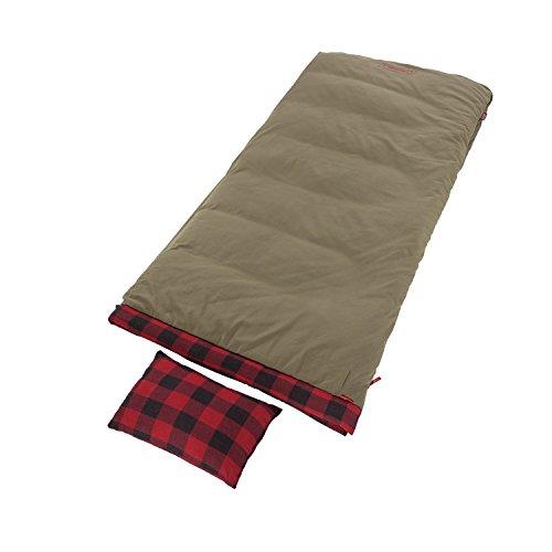 Coleman Big Game Big Tall Sleeping Bag -5 Degrees , Red Plaid