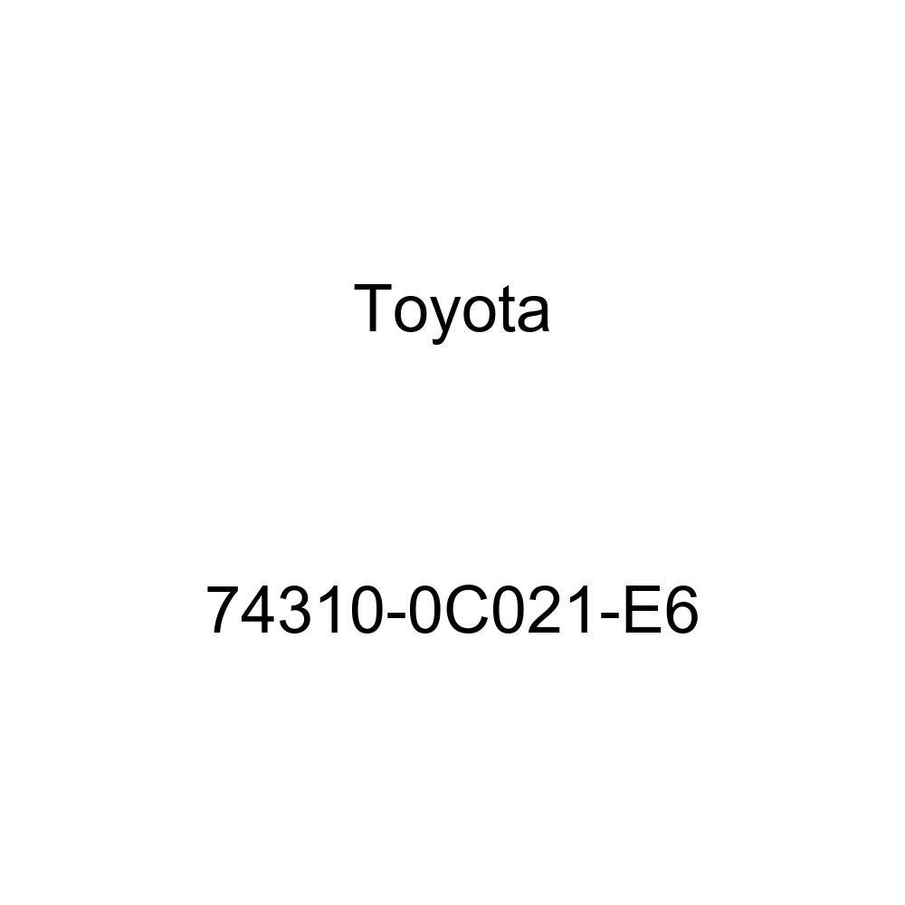 TOYOTA Genuine 74310-0C021-E6 Visor Assembly