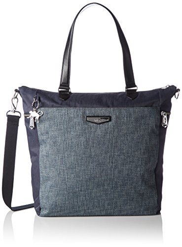 Kipling Luxestagious, Shopper para Mujer Azul (REF35L Woven Haven)
