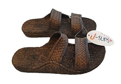 J-Slips Hawaiian Jesus Sandals/Jandals In 4 Cool Colors Unisex (3 Little Kid, - Kona Kids