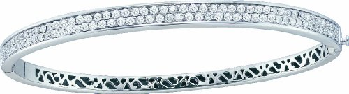 3 Total Carat Weight DIAMOND SOLEIL BANGLE by Jawa Fashion