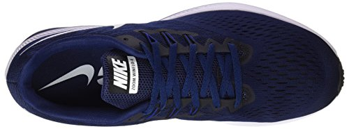 Compétition Royal Binary Winflo 400 Homme Running Chaussures Zoom 4 Nike Black de Blue Blue Deep White Multicolore zg56Y4qnwW