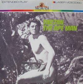 Tarzan The Ape Man (1932) LASERDISC