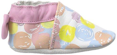Robeez Bubble Gum, Chaussures de Naissance bébé fille, Multicolore, 23/24 EU