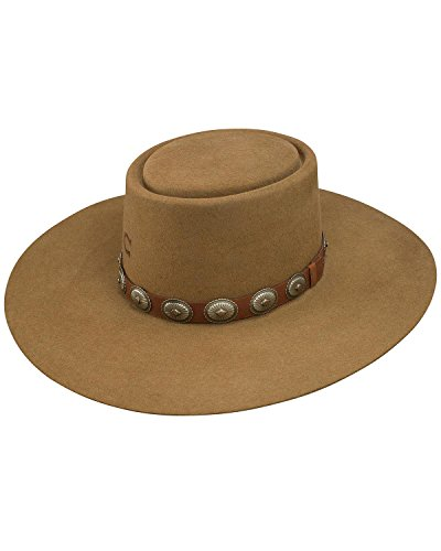 (Charlie 1 Horse Unisex High Desert Wool Hat Pecan Large)