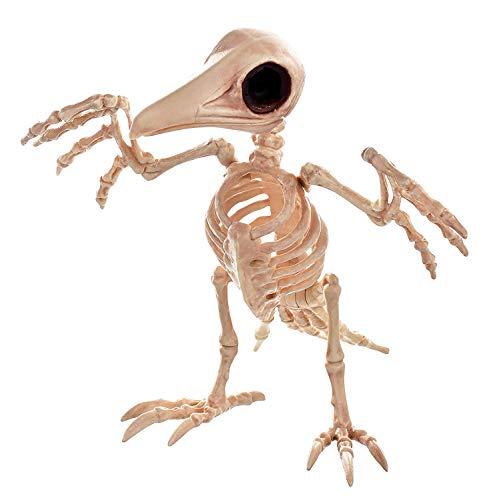 Crazy Bonez Creepy Skeleton Raven