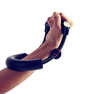 Sportneer Wrist Strengthener Forearm Exerciser Hand Developer Strength Trainer for Athletes, Fitness Enthusiasts, Professionals, Minimum Tension 15 LBS