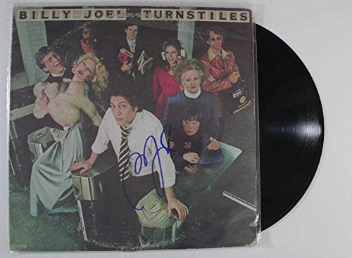 Billy Joel Signed Autographed 'Turnstiles' Record Album - COA Matching Holograms