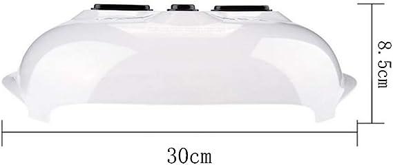 Gresunny Coperchio per microonde retrattile pieghevole copertura per microonde coperchio antischizzi per microonde con sfiati per vapore piastra copertura per alimenti per frutta verdura Giallo