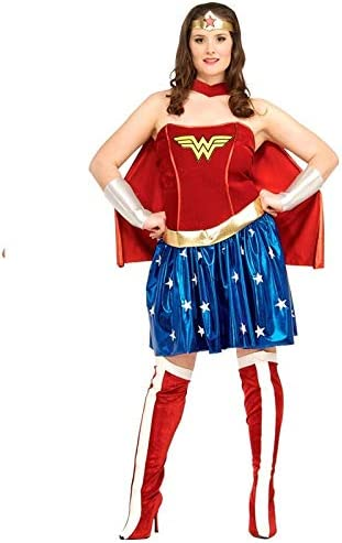 DISBACANAL Disfraz Wonder Woman Talla Grande - -, XL: Amazon.es ...