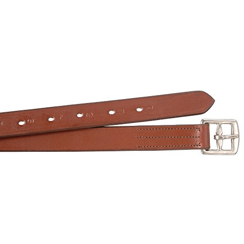 EquiRoyal Standard Leather Stirrup Leathers, Chestnut