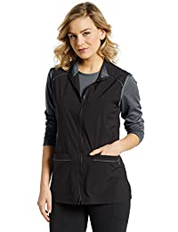 Oasis Fit by White Cross Women's 803 Two-Way Zip Front Vest Jacket
