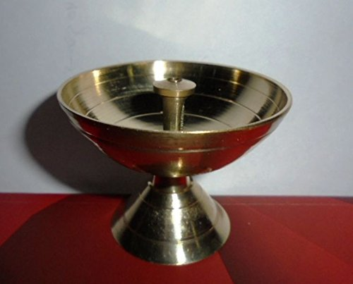 artcollectibles Inde 5en laiton Diya deepak akhand jyot kouber Temple Hindou Religieux Havan pūjā Lampe à huile Artcollectibles India