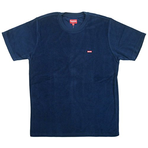 SUPREME シュプリーム 17SS Terry Small Box Tee Tシャツ 紺 L 並行輸入品 B07DHCK33T