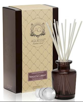 Aquiesse FRENCH OAK CURRANT Reed Diffuser Portfolio Collection Gift Boxed