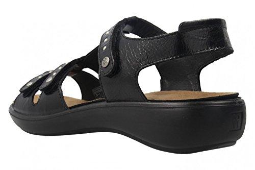 ROMIKA - Damen Sandalen - Ibiza 76 - Schwarz Schuhe in Übergrößen