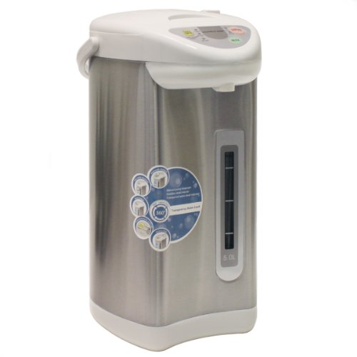 HOMEIMAGE 5 Liter / 5.28 Quart Electric Thermo Pot HI-EKA50L (Electric Hot Water Thermos compare prices)