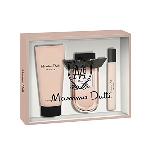 MASSIMO DUTTI IN BLACK WOMAN 80 ML + BODY 100 ML + MINI: Amazon.es: Alimentación y bebidas