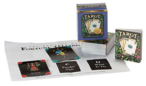 TarotTarot Card Deck and Book Set Complete Mega Mini Kit Fortune Telling Men Women Teen (Miniature Editions)
