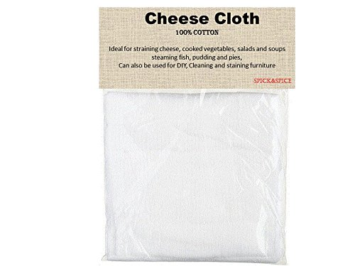 Muslin Cheesecloth, Cheese Cloth for cooking and straining