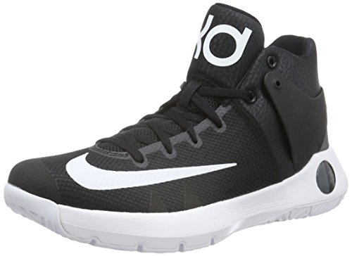 Nike Men's KD Trey 5 IV Basketball Shoes-Black-12