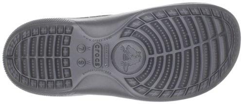Crocs Unisex Duett Scutes Skyv Svart / Grafitt