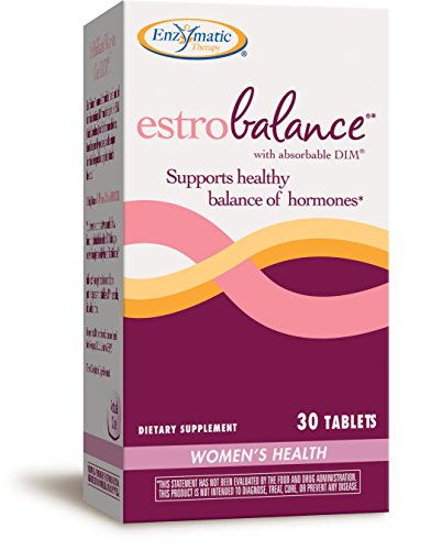 Natures Way EstroBalance with absorbable DIM, supports healthy estrogen metabolism, 30 Count