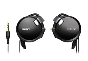 Sony MDR-Q68LW Clip-on Style Headphone with Retractable Cord