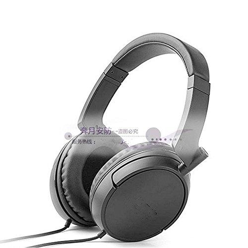 XHKCYOEJ Headset Stereo Headset/Headphones/Headphones/Computer/Mobile/Music/Cable,Gray: Amazon.co.uk: Electronics