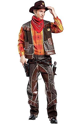 Mens Premium Deluxe Cowboy Wild West World Book