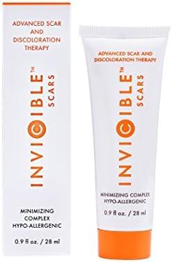 Scar Cream Silicone Aloe Vitamin C 0.9 fl oz Hypoallergenic Dark Spot Therapy Scar Treatment