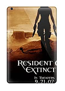 Awesome Resident Evil Extinction Black Sinister Grim People Movie Flip Case With Fashion Design For Ipad Mini/mini 2
