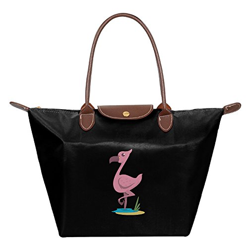 OUDE Cuban Flamingo Fashion Ladies Folding Dumpling - In Vegas Las Malls Outlet