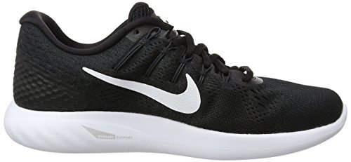 001 Anthracite Men Lunarglide White Nike Shoes 8 Black Running ywcz0c8qB