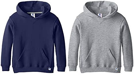 Russell Athletic Big Boys Fleece Pullover Hood