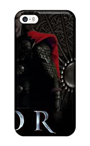 Flexible Tpu Back Case Cover For Iphone 5/5s - Thor 19