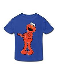 Age 2-6 Kids Toddler Elmo Sesame Street Little Boy's Girl's T Shirt RoyalBlue Size 2 Toddler