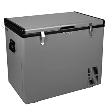 EdgeStar FP861 28 Inch Wide 2.8 Cu. Ft. Portable Fridge/Freezer with 12V DC Powe