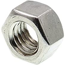 Prime-Line 9073470 Finished Hex Nut, 3/8 in-16, Grade 18-8 Stainless Steel, Pack of 50