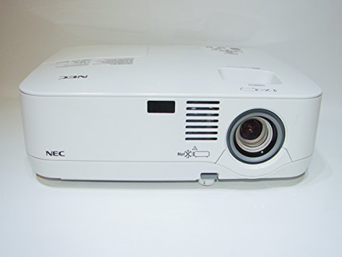 (NEC NP500 - LCD Projector 3000 ANSI HD HDMI w/Adapter 1080i Remote TeKswamp)
